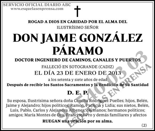 Jaime González Páramo